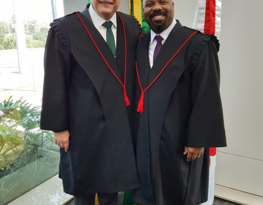 Presidente da Seccional da OAB/RS Dr. Ricardo Breier e Dr. Roberto Alexandre